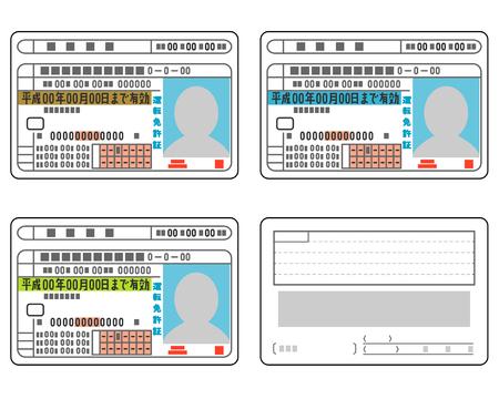 49927054 - japanese driver's license