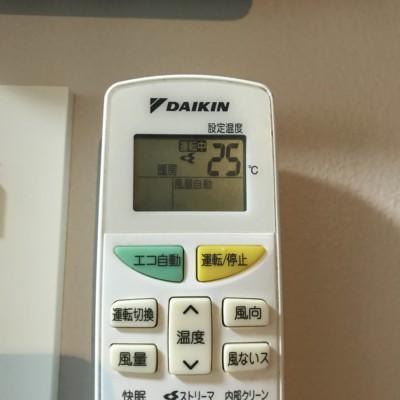 エアコン室温